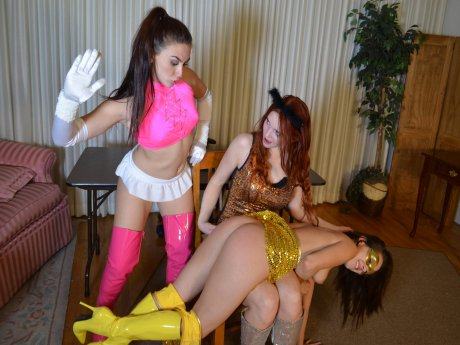 Spanking Veronica Works: Episode 100: Superheroine Spankings
