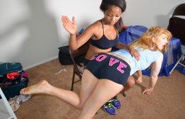 Spanking Veronica Works: Episode 104: Trampoline Spanking