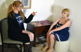 Spanking Veronica Works: Episode 95: Chess Match Spankings