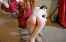 Spanking Veronica Works: Episode 115: Complaints Department Spanking