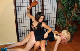 Spanking Veronica Works: Episode 92: Spankings at a Cafe