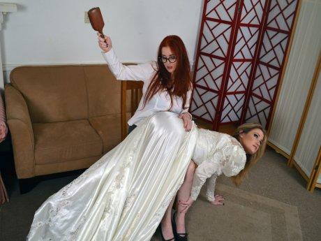 Spanking Veronica Works: Episode 112: Wedding Planner Spanking